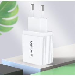 20307 - USAMS T24 зарядно 220V USB 2.1A