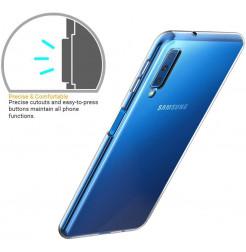 2032 - MadPhone супер слим силиконов гръб за Samsung Galaxy A7 (2018)