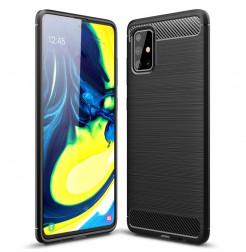 20543 - MadPhone Carbon силиконов кейс за Samsung Galaxy A71