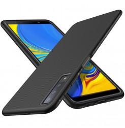 2072 - MadPhone релефен TPU калъф за Samsung Galaxy A7 (2018)