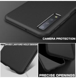 2073 - MadPhone релефен TPU калъф за Samsung Galaxy A7 (2018)