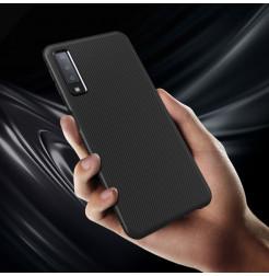 2074 - MadPhone релефен TPU калъф за Samsung Galaxy A7 (2018)