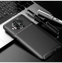 20758 - iPaky Carbon силиконов кейс калъф за Xiaomi Mi 10T Lite