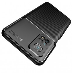 20859 - iPaky Carbon силиконов кейс калъф за Xiaomi Mi 10T / Mi 10T Pro