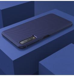 2099 - MadPhone релефен TPU калъф за Samsung Galaxy A7 (2018)