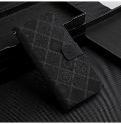 21478 - MadPhone Elegance кожен калъф за Samsung Galaxy S21