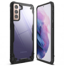 21804 - Ringke Fusion X хибриден кейс за Samsung Galaxy S21