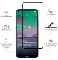 22082 - 5D стъклен протектор за Nokia 3.4