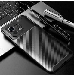 22216 - iPaky Carbon силиконов кейс калъф за Xiaomi Mi 11