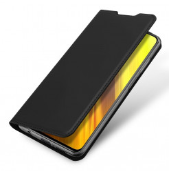 22455 - Dux Ducis Skin кожен калъф за Xiaomi Poco X3 NFC / Poco X3 Pro