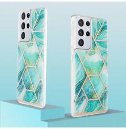 22552 - MadPhone Art силиконов кейс с картинки за Samsung Galaxy S21 Ultra