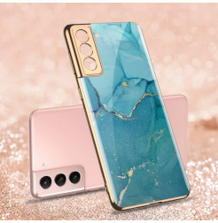 22732 - GKK Sky Glass стъклен калъф за Samsung Galaxy S21