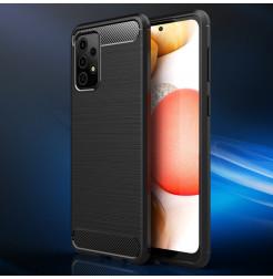 22859 - MadPhone Carbon силиконов кейс за Samsung Galaxy A52 4G / 5G