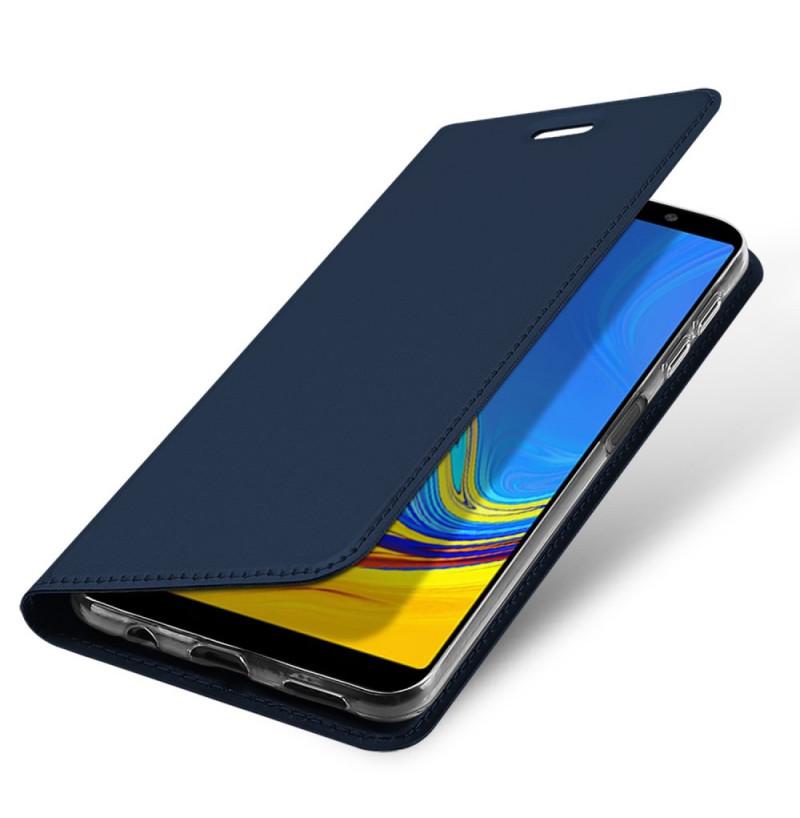 2292 - Dux Ducis Skin кожен калъф за Samsung Galaxy A7 (2018)