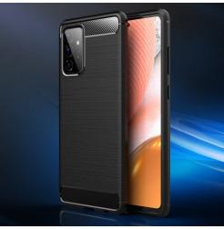 23050 - MadPhone Carbon силиконов кейс за Samsung Galaxy A72