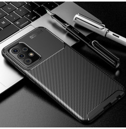 23064 - iPaky Carbon силиконов кейс калъф за Samsung Galaxy A72
