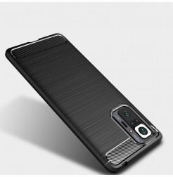 23288 - MadPhone Carbon силиконов кейс за Xiaomi Redmi Note 10 Pro