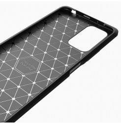 23289 - MadPhone Carbon силиконов кейс за Xiaomi Redmi Note 10 Pro