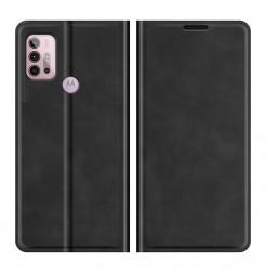 23386 - MadPhone Classic кожен калъф за Motorola Moto G10 / G30