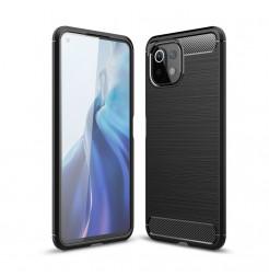 23802 - MadPhone Carbon силиконов кейс за Xiaomi Mi 11 Lite