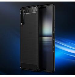 24108 - MadPhone Carbon силиконов кейс за Sony Xperia 10 III
