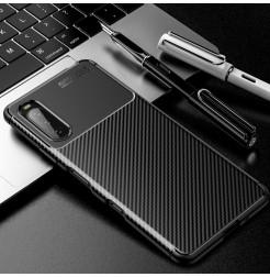 24121 - iPaky Carbon силиконов кейс калъф за Sony Xperia 10 III