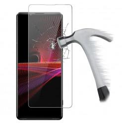 24204 - MadPhone стъклен протектор 9H за Sony Xperia 1 III