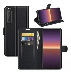 24274 - MadPhone кожен калъф за Sony Xperia 1 III