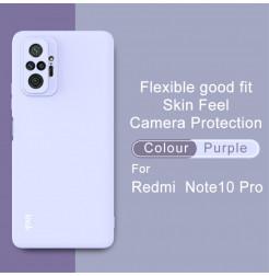24640 - IMAK UC-2 силиконов калъф за Xiaomi Redmi Note 10 Pro