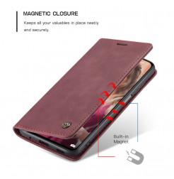 24674 - CaseMe премиум кожен калъф за Xiaomi Redmi Note 10 Pro