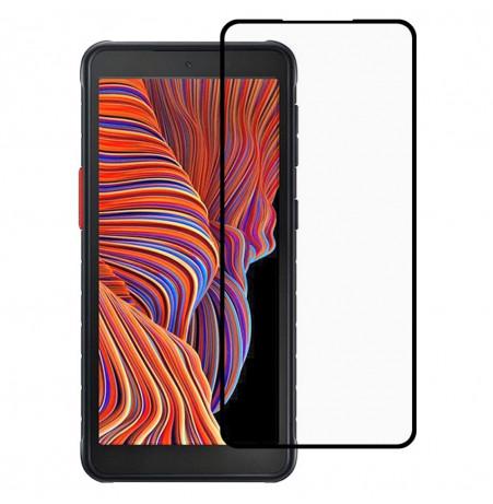 24958 - 5D стъклен протектор за Samsung Galaxy Xcover 5