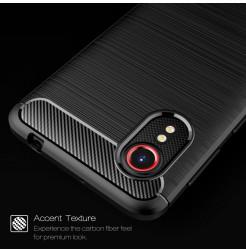 24965 - MadPhone Carbon силиконов кейс за Samsung Galaxy Xcover 5