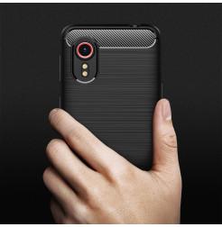 24966 - MadPhone Carbon силиконов кейс за Samsung Galaxy Xcover 5