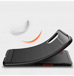 24969 - MadPhone Carbon силиконов кейс за Samsung Galaxy Xcover 5