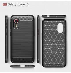 24971 - MadPhone Carbon силиконов кейс за Samsung Galaxy Xcover 5
