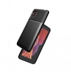 24978 - iPaky Carbon силиконов кейс калъф за Samsung Galaxy Xcover 5