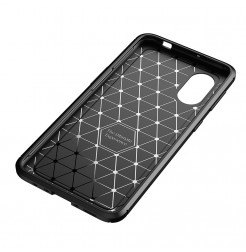24979 - iPaky Carbon силиконов кейс калъф за Samsung Galaxy Xcover 5