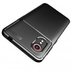 24980 - iPaky Carbon силиконов кейс калъф за Samsung Galaxy Xcover 5