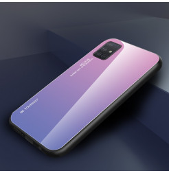 25014 - NXE Sky Glass стъклен калъф за Samsung Galaxy A71
