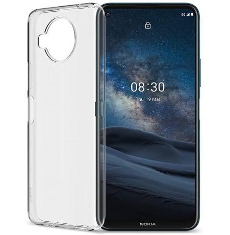 25028 - MadPhone супер слим силиконов гръб за Nokia X10 / X20