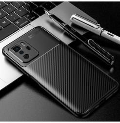 25221 - iPaky Carbon силиконов кейс калъф за Xiaomi Poco X3 GT