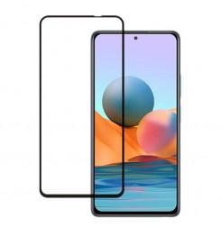 25352 - 3D стъклен протектор за целия дисплей Xiaomi Redmi Note 10 5G / Poco M3 Pro