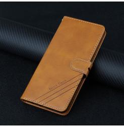 25475 - MadPhone Classic кожен калъф за Xiaomi Redmi Note 10 5G / Poco M3 Pro