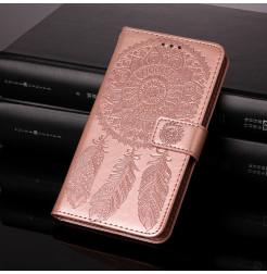 25695 - MadPhone кожен калъф с картинки за Samsung Galaxy A22 4G