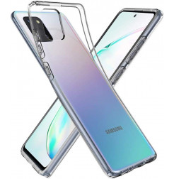 2573 - Spigen Liquid Crystal силиконов калъф за Samsung Galaxy Note 10 Lite