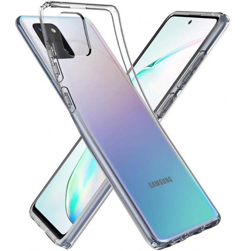 2573 - Spigen Liquid Crystal силиконов калъф за Samsung Galaxy Note 10 Lite