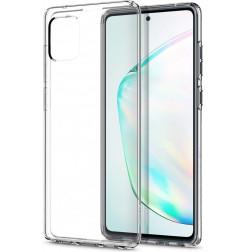 2577 - Spigen Liquid Crystal силиконов калъф за Samsung Galaxy Note 10 Lite