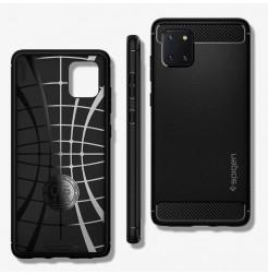 2587 - Spigen Rugged Armor силиконов калъф за Samsung Galaxy Note 10 Lite
