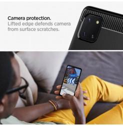 2589 - Spigen Rugged Armor силиконов калъф за Samsung Galaxy Note 10 Lite