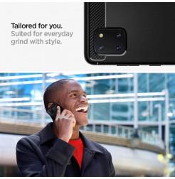2590 - Spigen Rugged Armor силиконов калъф за Samsung Galaxy Note 10 Lite